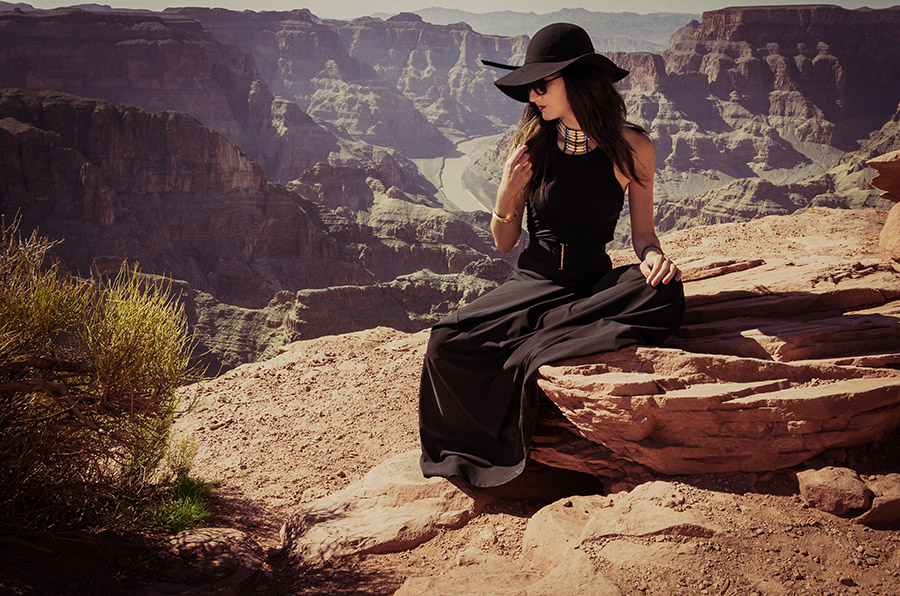 Grand Canyon Fashion Photo shoot