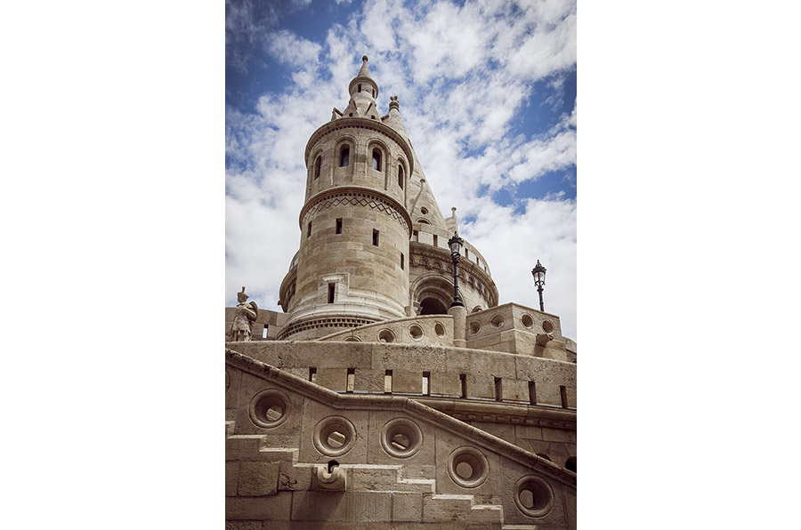 The Fisherman Bastion, Budapest, Hungary