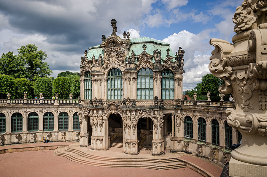 The Zwinger, Dresden, Germany