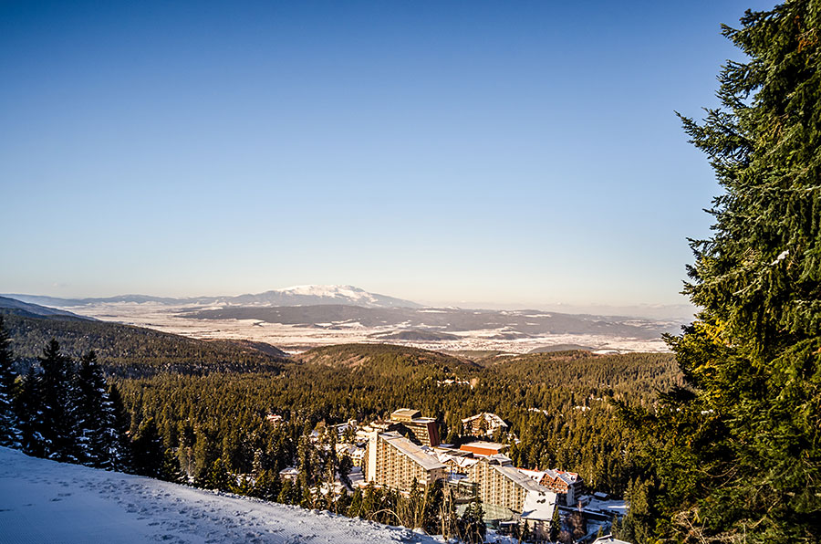 Borovets Ski Resort Mountain Winter Snow