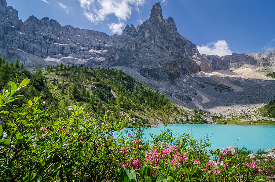 The Magical Sorapis Lake, The Dolomites